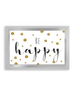 "Theekaart ""Be Happy"""