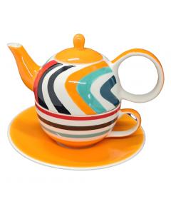 "Tea for One theeset ""oranje"""