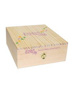 Luxe houten theekist 12-vaks