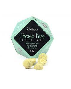 Theebonbons Groene thee met munt en citroen