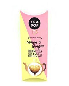 Tea on a Stick - groene thee citroen/gember