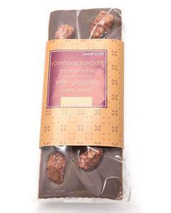 Melkchocolade met geroosterde amandelen