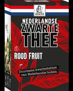 Zwarte thee rood fruit
