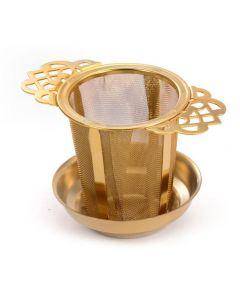 RVS theefilter goud