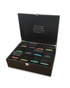 Theekist Luxe 12-vaks zwart