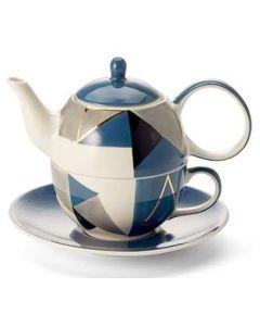 "Tea for One set ""Caspian"""