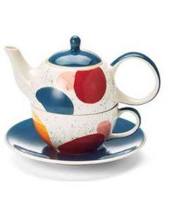 "Tea for one set ""Lynnea"""