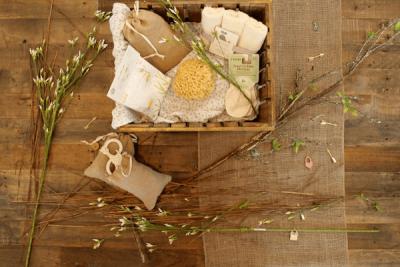 Badkruiden en bloesem, het perfecte verwenmomentje