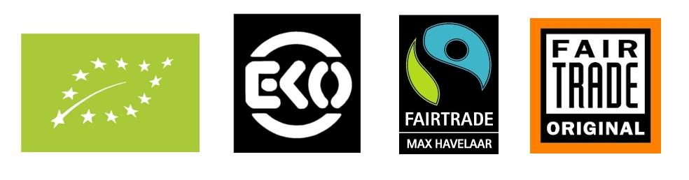 Biologische thee fairtrade EKO keurmerk